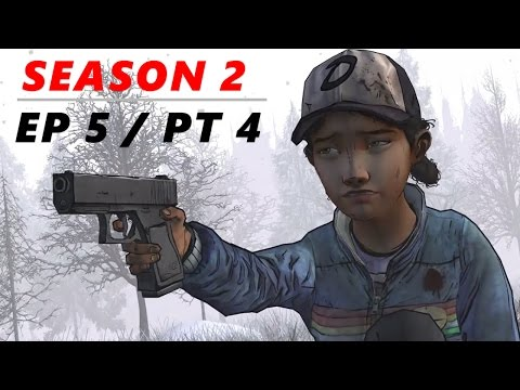 TIME TO SAY GOODBYE! - The Walking Dead: Season 2 - Episode 5   Part 4