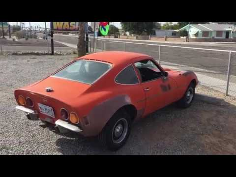 1972 Opel Gt Sports Car Classic Youtube