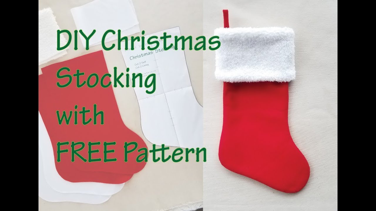 It is a picture of Printable Stocking with regard to pattern