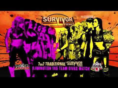 Total Divas vs Team Aj Lee Survivor Series 2013