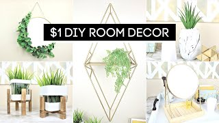 DIY Room Decor! HIGH END Dollar Store DIY's *Anthropologie Inspired*