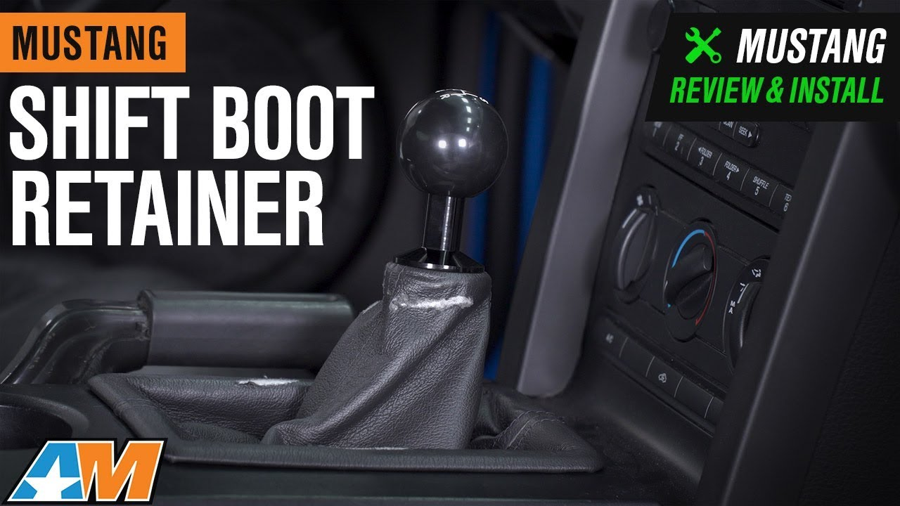 Shift Boot Retainer (05-14 All, Excluding 11-14 GT500)