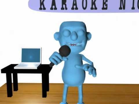 Karaoke in a Blue World