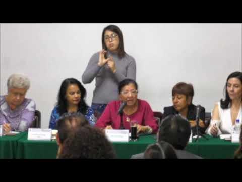 Discurso de Nashieli Ramírez en el Foro Derecho de las Personas Trabajadoras no Asalariadas