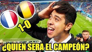 FRANCIA VS BELGICA (1-0) - UNA SEMIFINAL DE LOCURA