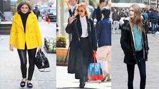 Celebrity Winter Street Style Fashion