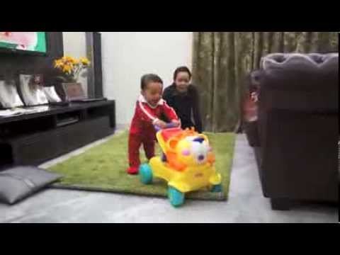 Fisher-Price Stride to Ride Lion with Baby Rafa