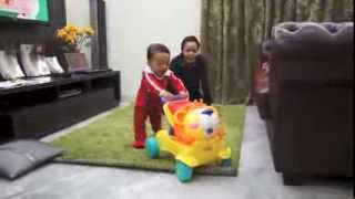 fisher price stride to ride lion with baby rafa