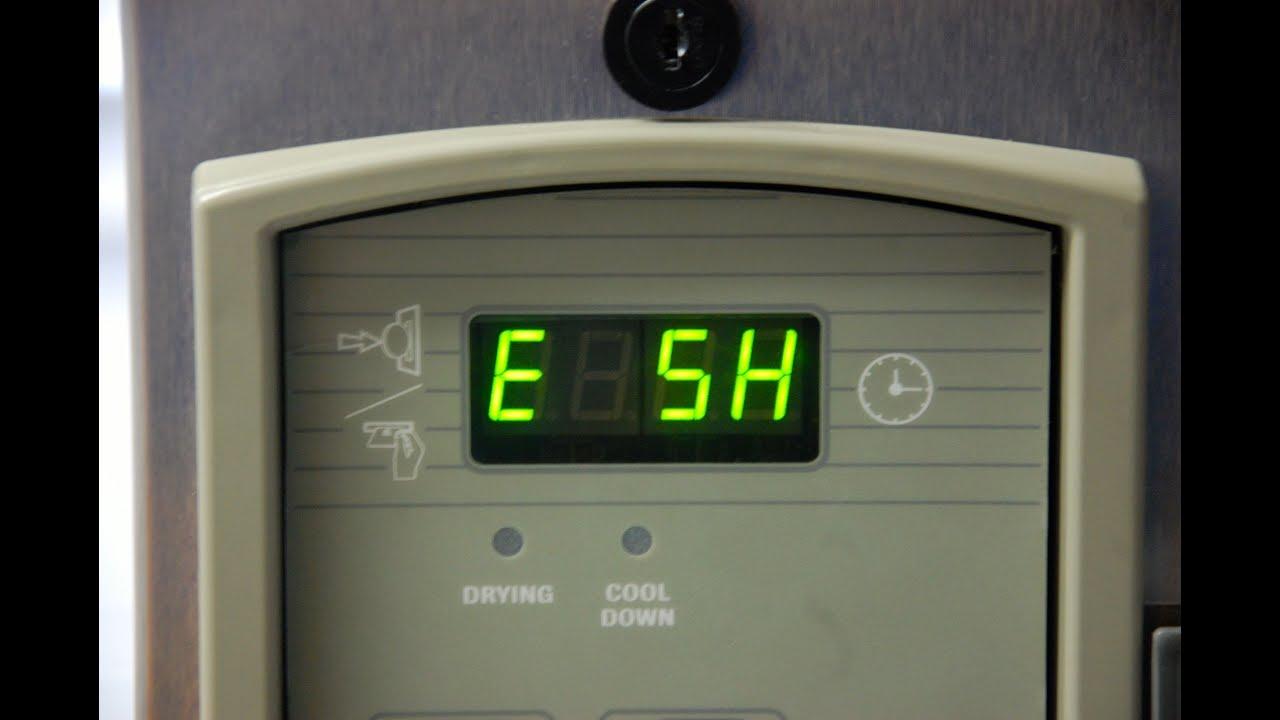E Sh Error Code Huebsch Speed Queen Commercial Dryer Tumblers Hk