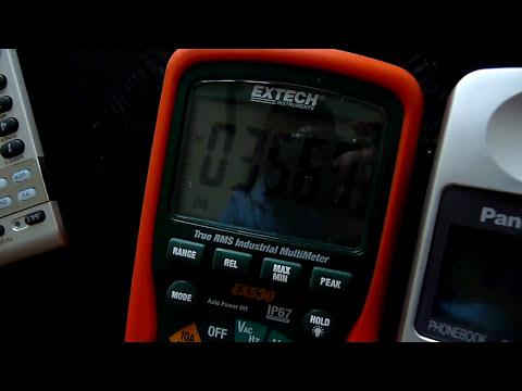 Gsm Vs Fluke 289, Amprobe 38xr And Extech Ex530  Pulstechnology 01:41 HD
