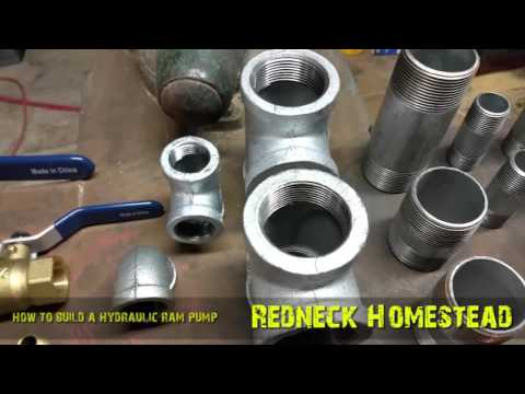 Pumping Water Off Grid -  Building A Hydraulic Ram Pump & How it Works