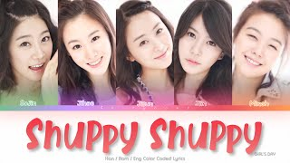 Girl's Day (걸스데이) Shuppy Shuppy Color Coded Lyrics (Han/Rom/…