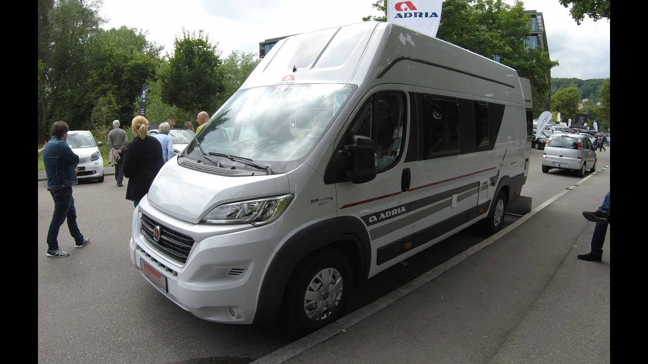 fiat ducato maxi adria twin 640 shx camper walkaround. Black Bedroom Furniture Sets. Home Design Ideas