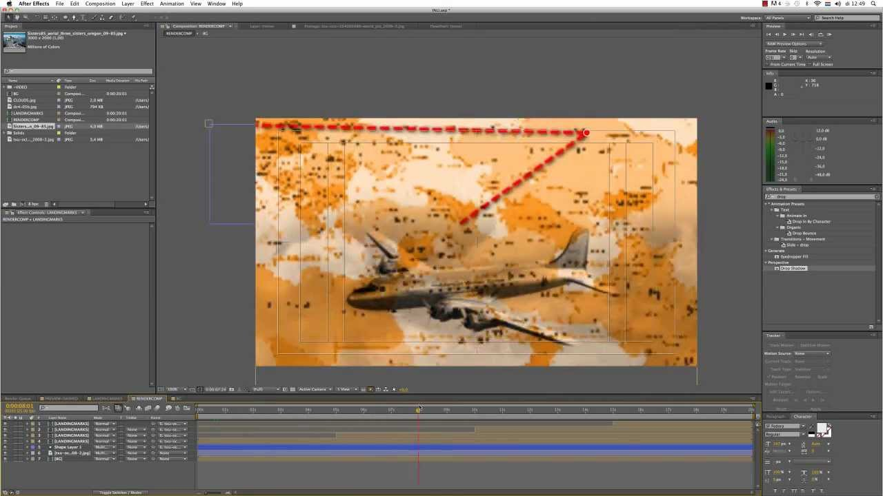 ENG After Effects Tutorial 2 Indiana Jones Travel map YouTube – Travel Map Software