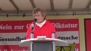 Demo in Wien am 26. September 2020: Rede von Inge Rauscher