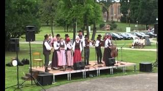 FOLKLORO ŠVENTĖ BIRŠTONE. Kelmės folkloro ansamblis TADUJA. Pirma dalis