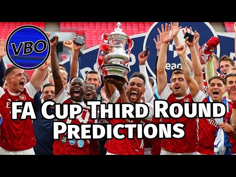 FA Cup 20/21 | Third Round | Predictions | All 32 Games Covered!