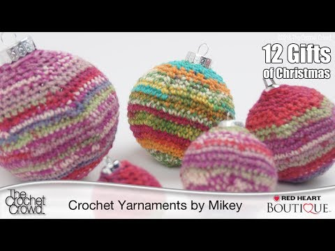 Learn How To Crochet Christmas Baubles Youtube