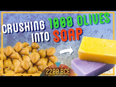 How to Make Soap From Olives