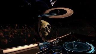 Elite Dangerous VR : epic asteroid belt