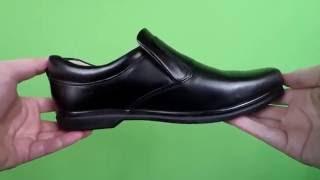 Видеообзор - Туфли кожаные мужские Makas (2433-15)(, 2016-05-27T11:54:12.000Z)
