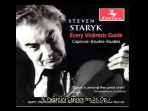 Steven Staryk - Every Violinists Guide - track 34 N. Paganini