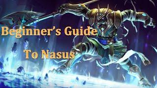 Beginner's Guide to Nasus