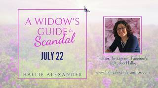 Cover Reveal: A Widow's Guide to Scandal