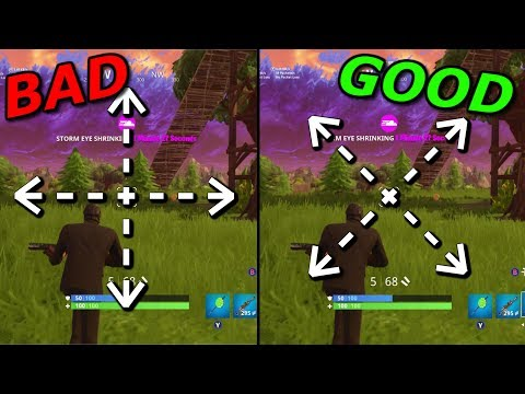 BEST AIMING TIPS for FAST SENSITIVITY Console Players! Fortnite Battle Royale