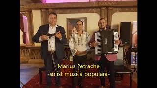 Marius Petrache - solist muzica populara - program live nunta 2018
