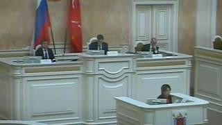 оксана Дмитриева представляет запрос губернатору о выплате компенсаций владельцам гаражей