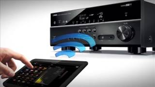 yamaha rx v377 5 1 channel av home theater receiver review part 1