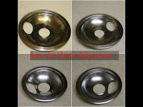 Best Way To Clean Your Stove Drip Pans|Chemical Free Method