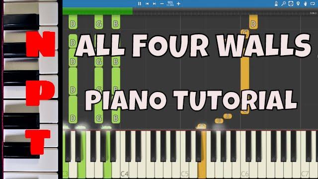 Gorgon City - All Four Walls - Piano Tutorial - YouTube