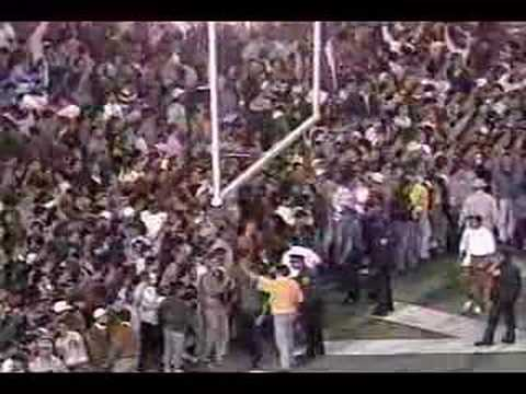 1990 Texas Vs. Houston - End Of Game
