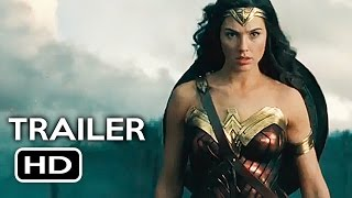 Wonder Woman Official Trailer #4 (2017) Gal Gadot, Chris Pine Action Movie HD