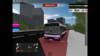 Route 1A to East Canterbury ALDO | Canterbury Bus Simulator | ROBLOX
