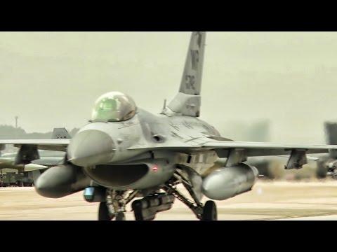 Max Thunder Aircraft Takeoff • Kunsan Air Base South Korea