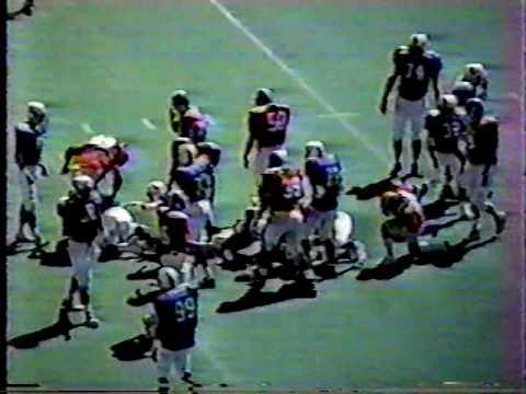 Texas Rampage 6 vs Arlington Broncos 7 pt1. (1993)