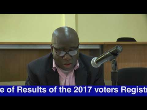 2017 ELECTIONS UPDATE BY CLLR. JEROME KORKOYAH CHAIRMAN (NEC) JULY 28, 2017