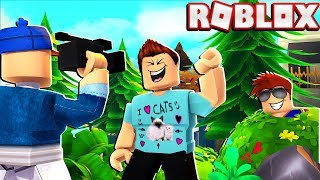 SNEAKING Into Another ROBLOX YouTuber's Video! (Shhhhh)
