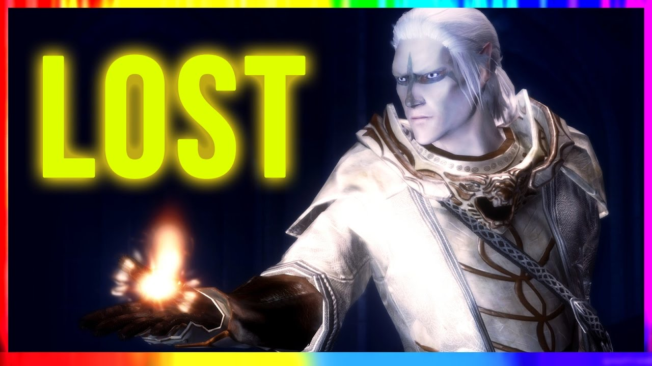 Skyrim Special Edition - The Legend of LOST ECHO CAVE (Secret Puzzle  Walkthrough Warrior Gameplay)