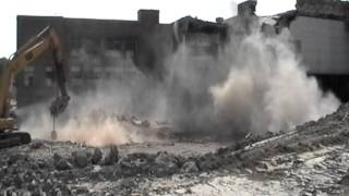 Mackenzie High School Stack Demolition