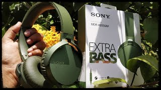 SONY MDR-XB550AP Stereo Headphone Unboxing & Review With My Honest Opinion