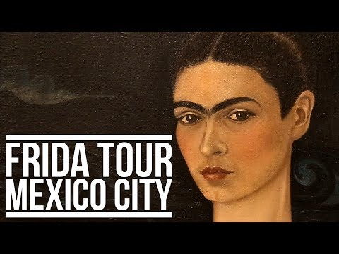 FRIDA KAHLO TOUR OF MEXICO CITY | Eileen Aldis
