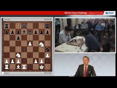 Zurich  Chess Challenge Rapid Round 4. live commentary with Jan Gustafsson