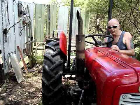 massey harris ferguson fe 35 petrol tractor youtube. Black Bedroom Furniture Sets. Home Design Ideas