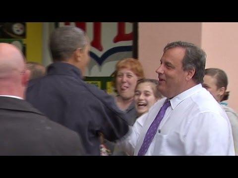 Gov. Christie schools Obama in football