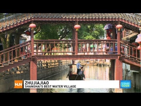 Zhujiajiao is Shanghai, China's best water village