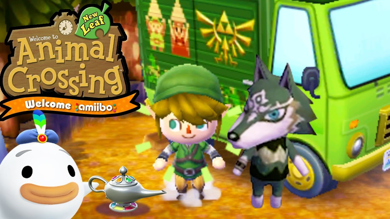 Animal Crossing New Leaf Welcome Amiibo Update Wolf